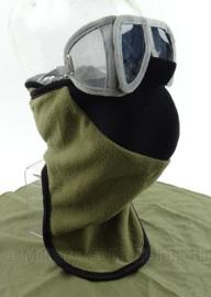 Korps Mariniers winter oefening bril en gezichtsmasker set - ONGEBRUIKT - origineel