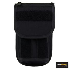 Koppeltas universele sleutel- of magazijnhouder - zwart - 100% Cordura - DP219
