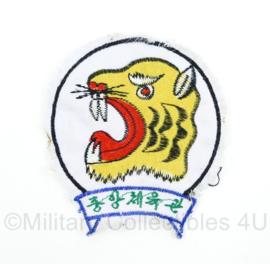 Onbekend embleem met tijger - Indonesie? - origineel