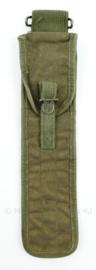 US Army M56 pompstok tas .50 zonder pompstok - 35 x 7,5 cm - origineel