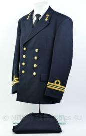 Koninklijke Marine daagsblauw uniform - Luitenant ter Zee der 1e klasse LTZ1 - maat 52 - Origineel