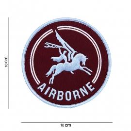 British Airborne pegasus embleem - stof - rond 10 cm. diameter