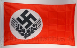 Arbeitsdienst RAD vlag - polyester - 90 x 150 cm