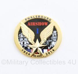 Coin Franse Luchtmacht Phalsbourg Airshow 1954 2014  60 jaar - origineel
