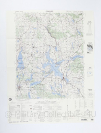 USA Defence mapping agency stafkaart Poland Czaplinek M753 2525III - 1 : 50.000 - 74 x 58 cm - origineel