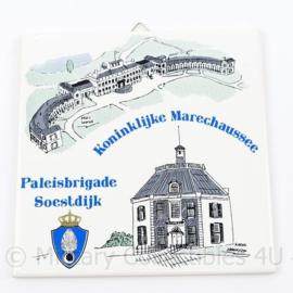 Kmar Koninklijke Marechaussee Paleisbrigade Soestdijk wandtegel - 15 x 15,5 cm - origineel