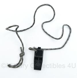 Defensie tactische fluit aan koord merk Chums - 5,5 x 2,5 cm - origineel