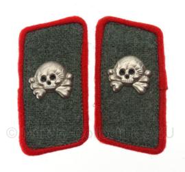 Panzer Sturmgeschutz Kraagspiegel set -  rode bies