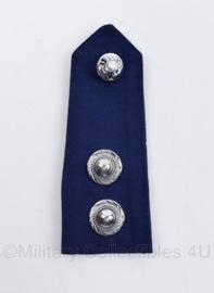 Korps Rijkspolitie epaulet Hoge rang  - Rang District Adjudant - 1 enkele epaulet - origineel