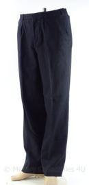 KM Marine wollen broek 1972 - donkerblauw - maat 52 - origineel