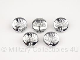 Knopen set Korps Rijkspolitie  - 5 stuks - 23 mm - origineel
