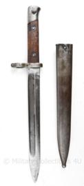 Austro-Hungarian M1895 bajonet Oostenrijkse export bajonet  M1895 - Österreichischen Waffenfabriks-Gesellschaft - 38,5 cm lang - origineel