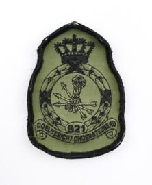 KLU Luchtmacht embleem 921 Squadron Doelgericht Ondersteunend - met klittenband - 11,5 x 8 cm - origineel