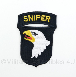 "WO2 US Army 101st Airborne Division ""Sniper"" patch - 8,4 x 6 cm"