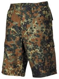 Bermuda korte broek - flecktarn camo