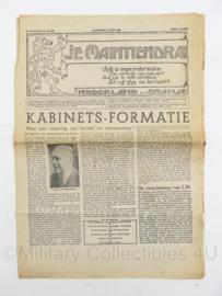 krant JM Je Maintiendrai van 2 juni 1945 - origineel