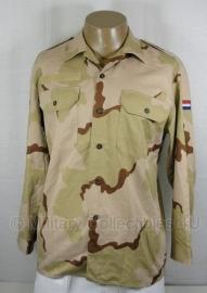 KL desert camo Overhemd  lange mouw - NIEUW  - maat 6080/9500  - origineel
