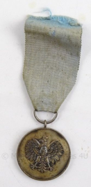 Poolse medaille - Medal of the borderland soldiers association for services to the polisch cause - 4 x 11 cm - origineel