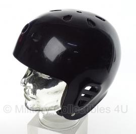 Zwarte veiligheidshelm - maat M = 55/56 cm. - origineel