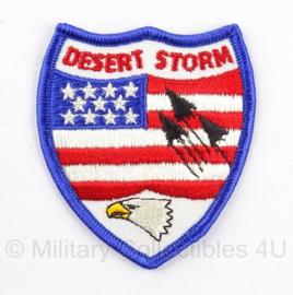 US embleem Desert Storm - 8 x 6 cm - origineel