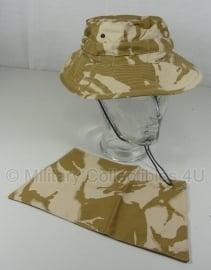 Combat Boonie Hat - Desert DPM -  British Army  - maat 57 - nieuw in verpakking - origineel