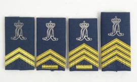 KLu Luchtmacht GLT epauletten KMA Militaire Academie - verschillende rangen - vorig model - origineel
