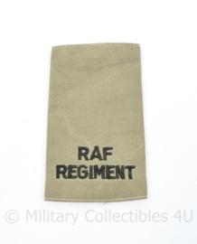 Britse RAF Regiment  ENKELE epaulet - 9 x 6 cm - origineel