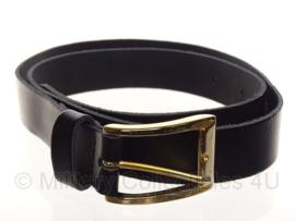 KL DT2000 broekriem zwart met gouden gesp - Made in Italy - meerdere maten - origineel