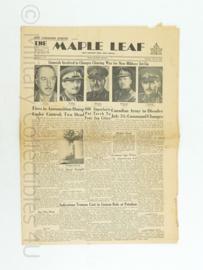 Krant Maple Leaf - Juli 21, 1945 -  origineel