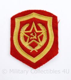 USSR Russische leger arm embleem - 8 x 6 cm - origineel