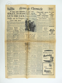 News Chronicle krant - 5 June 1945 - origineel