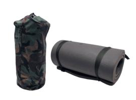 KL Nederlandse leger isomat slaapmat - met woodland tas - origineel