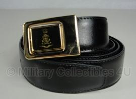 Nederlands leger KL /Klu / Marine - dt uniform leren koppel met gouden slot - ongebruikt - origineel