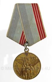 Russische medaille 40 jaar Overwinning - origineel