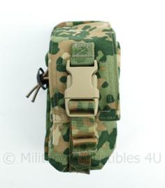 Nederlandse Leger nieuwste model NFP Multitone MOLLE small utility grenade pouch Sioen - 17 x 8 x 7 cm - origineel