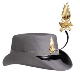 Italiaanse douane Dames hoed MET embleem - zeldzaam! - origineel