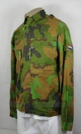 KL Nederlandse leger basis jas Jungle camo Permethrine - gebruikt - 6080/8590, 6080/9500 of 7090/1015 - origineel