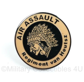 KL Nederlandse Leger Air Assault regiment van Heutsz speld - diameter 2cm