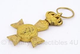 """Belgische """"Du Roi Albert les veterans 1909-1934"""" gouden medaille - Origineel"""