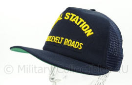 USN US Navy baseball cap bemanning Naval Station Roosevelt Roads - one size - origineel