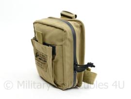 US Army en Nederlandse leger NAR combat Casualty Response kit bag - Been tas Molle - zonder inhoud - 20 x 20 x 5,5 cm - origineel