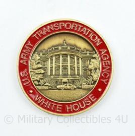 Zeldzame coin US Army Transportation Agency White House - diameter 4,5 cm - origineel