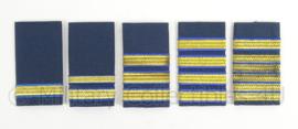 KLu Luchtmacht GLT epauletten gala uniform - verschillende rangen - origineel