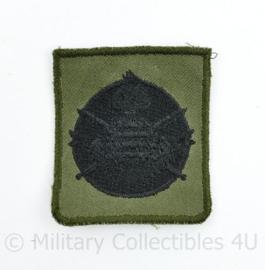 KCT Korps Commandotroepen borst embleem GVT - Zeldzame donkere versie - 5 x 4,5 cm -  origineel
