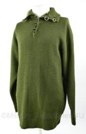 Fostex dikke groene navy sweater - maat M - origineel