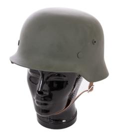 M35 helm feldgrau (maximaal 60 cm. hoofdomtrek)