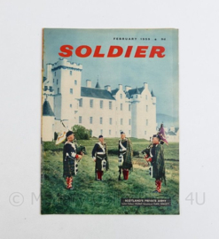 The British Army Magazine Soldier February 1959 - 30 x 22 cm - origineel