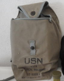 US Navy USN Gasmaskertas USN Mask Chemical Biological ND Mark V