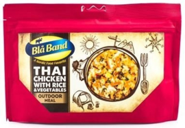 Blå Band THAI CHICKEN WITH RICE & VEGETABLES Outdoor meal maaltijd - t.h.t. 23-10-2022