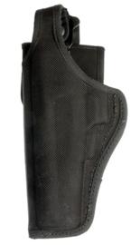 US Army open Bianchi size 15 zwart Cordura holster linkshandig- origineel